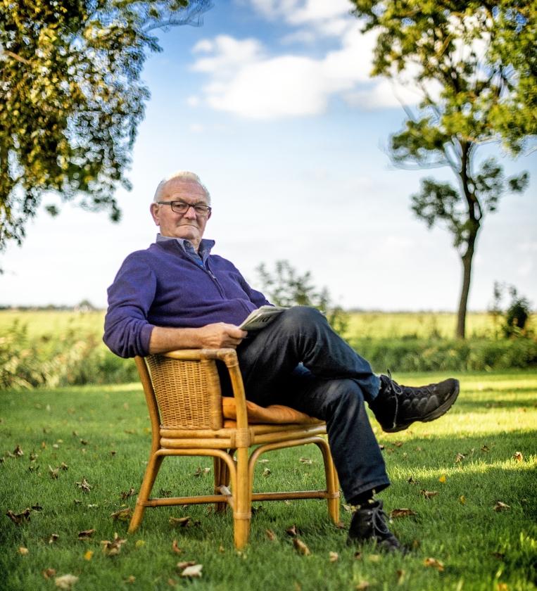 Ouderenportret: 'Ik zag dat onze boerderij in lichterlaaie stond'   (Duncan Wijting)