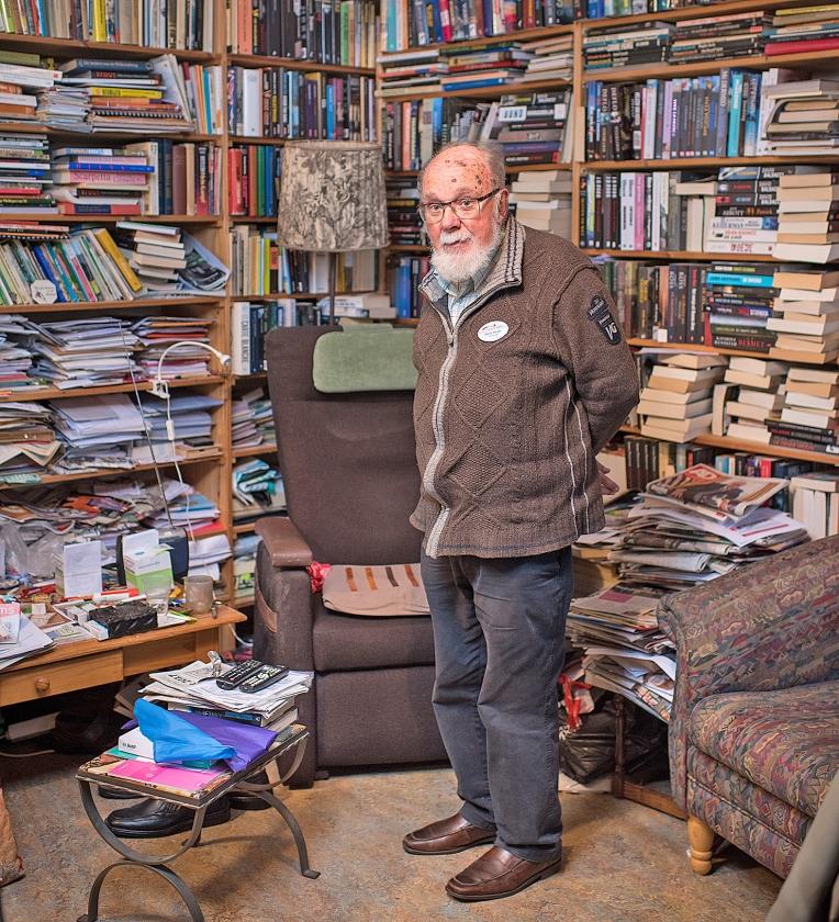 Ouderenportret: Geert Stotijn (76 jaar)   (Niek Stam)