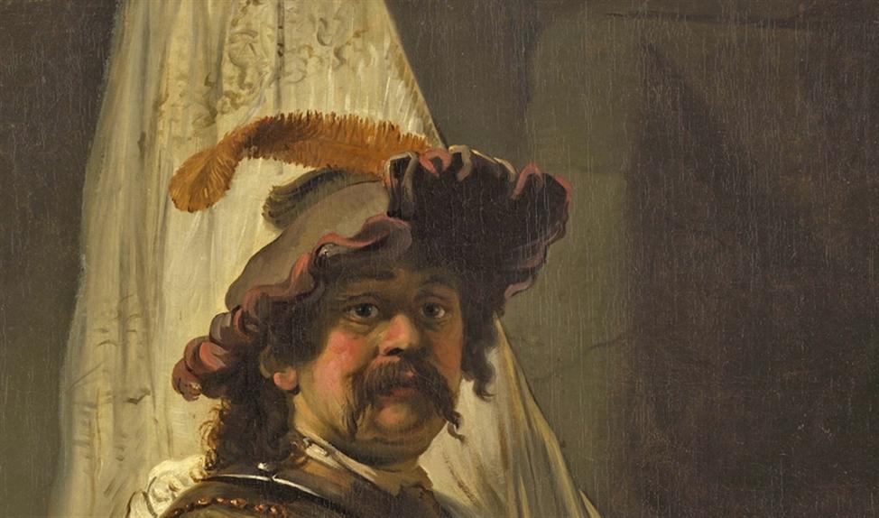 De Vaandeldrager van Rembrandt.   (wikipedia)