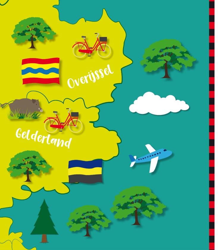 Ook een vrolijke kaart van Nederland op uw keukendeur? Verzamel de komende weken alle negen puzzelstukken.