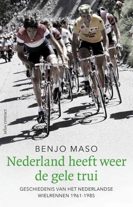 Het sociologisch onderzoek van Benjo Maso verdwijnt in het niet bij de wielerboeken die hij schrijft