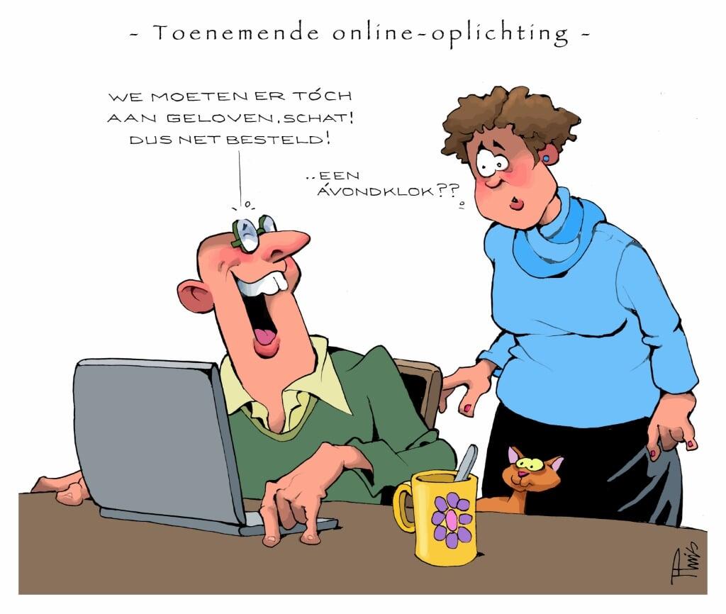 Cartoon opinie  (beeld nd)