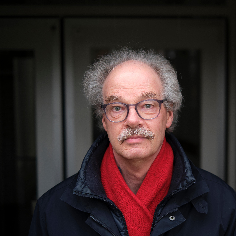 Hasselt, 8 maart 2021. Ds Henk van Veldhuizen, predikant van de protestantse gemeente Hasselt.  (beeld Dick Vos)