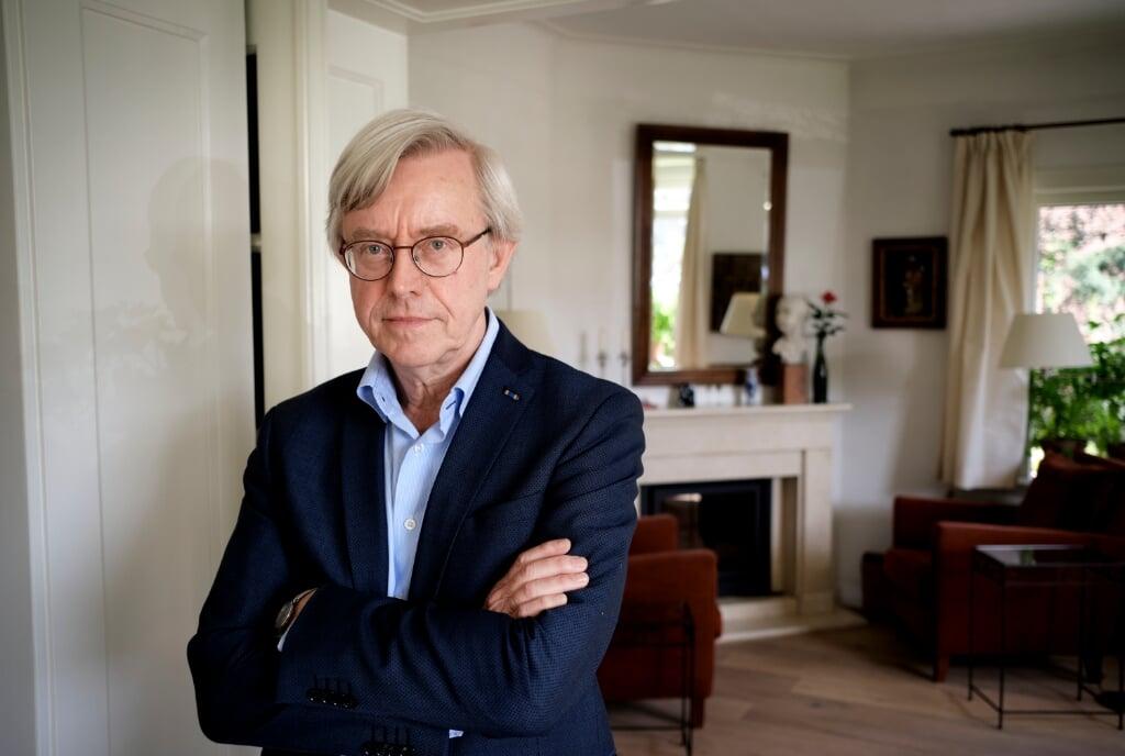 Nijmegen, 1 april 2021. Paul van Tongeren, filosoof. [HOUVAST]  (beeld © Dick Vos)