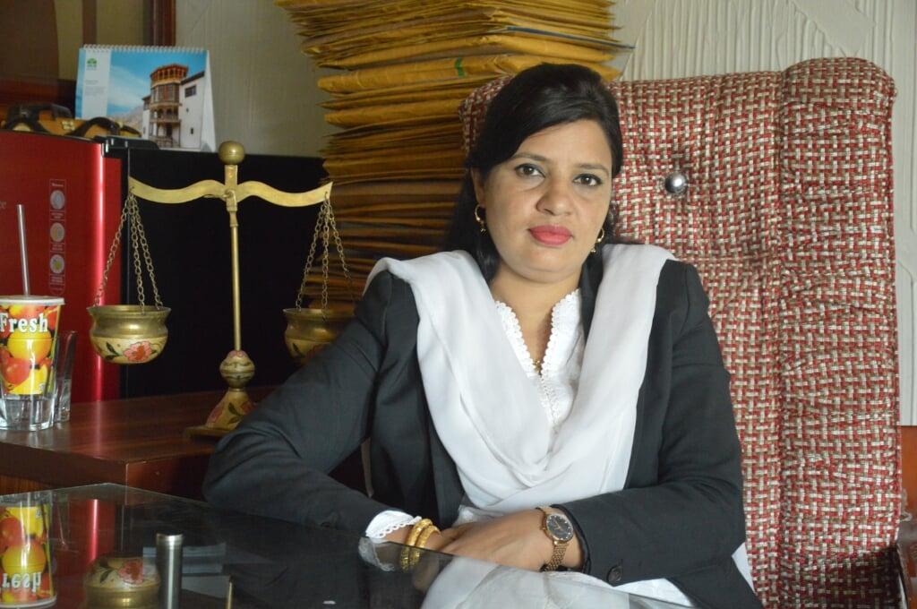 Pakistaanse dame  (beeld nd)