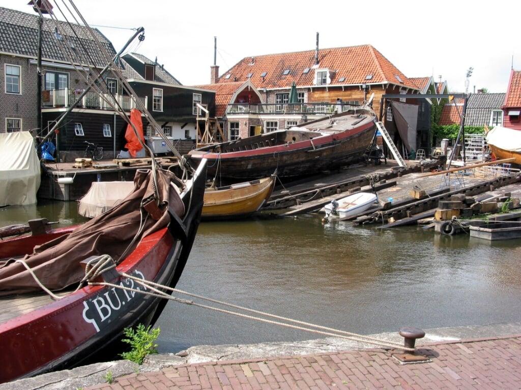 De vijftigste editie van de Spakenburgse Dagen wordt verschoven naar 2022.   (beeld anp / Cor Mulder)